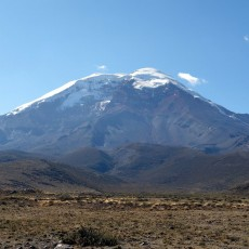 Chimborazo: the furthest mountain from the centre of the Earth