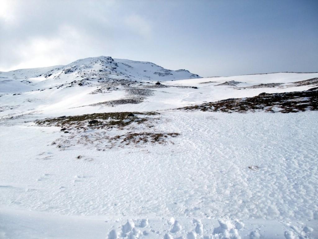 Beinn Dorain's Antarctic summit ridge