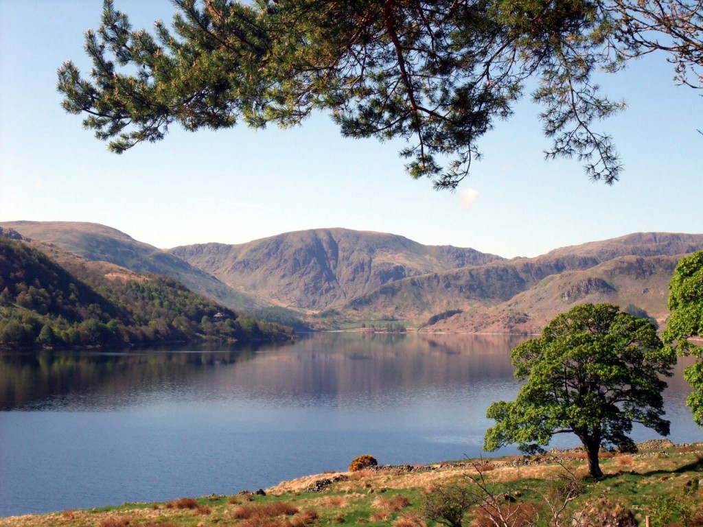 Harter Fell (778m) seen across Haweswater