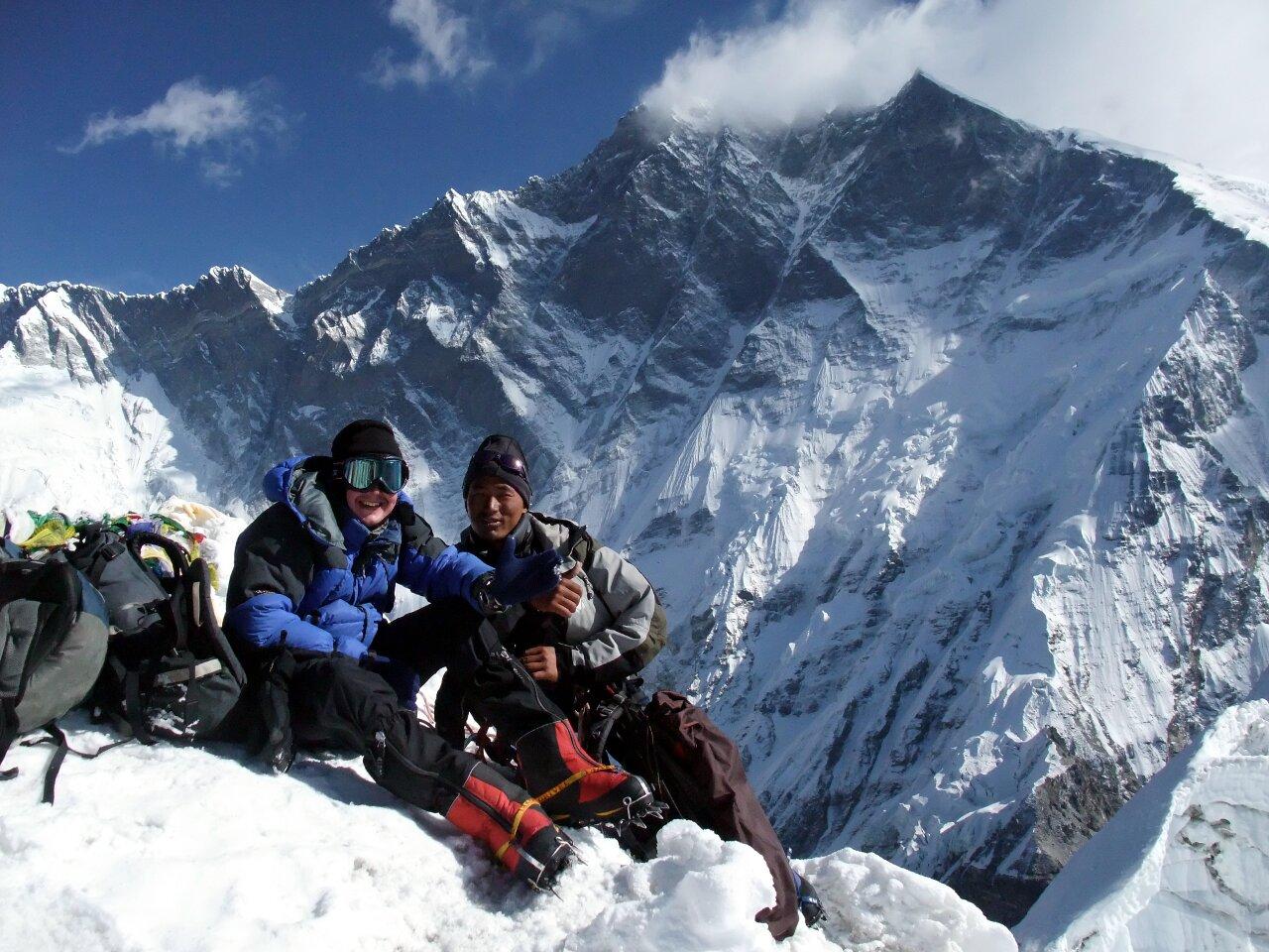 df7a1d79e3 South Peak  my attempt on Lhotse – Mark Horrell
