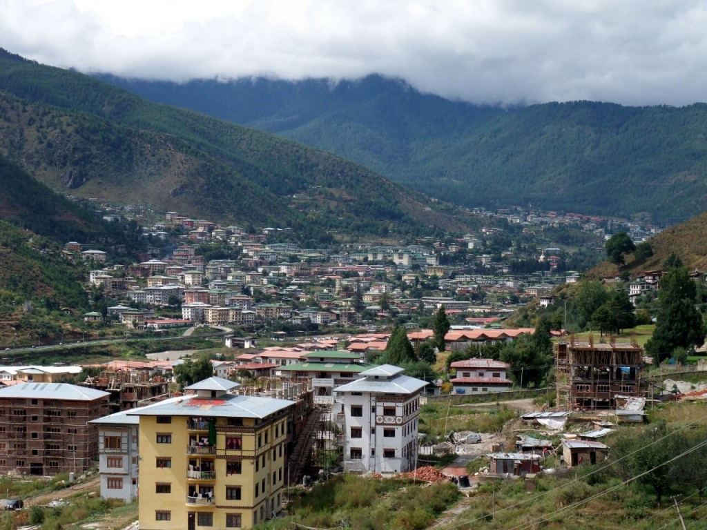 Thimphu is still quite a small place, but it's moving rapidly into the 21st century