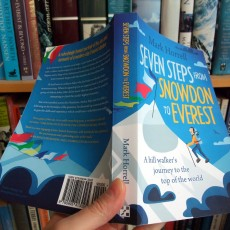 5 reasons to buy the paperback of Seven Steps from Snowdon to Everest