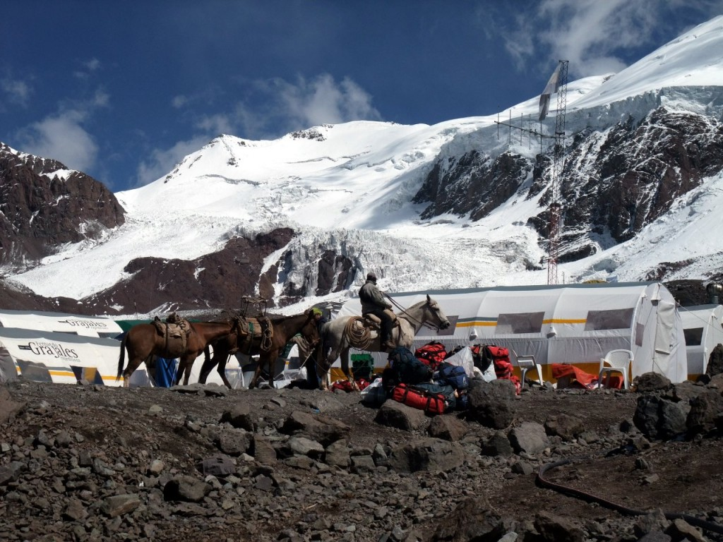 Plaza de Mulas, Aconcagua, home of the dreaded base camp doctors