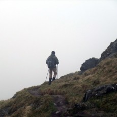 The joys and perils of off-piste walking