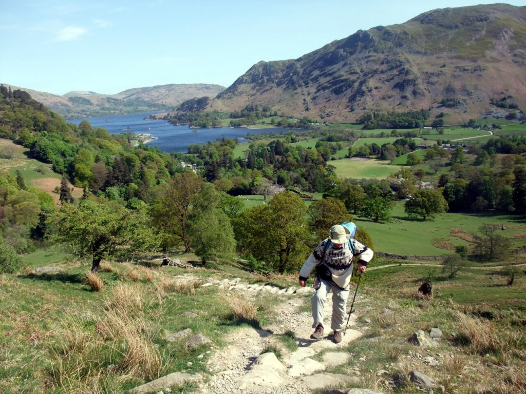 Hill walking doesn't have to be especially challenging, as long as it involves a hill