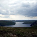 Claerwen Reservoir from Craig Fawr