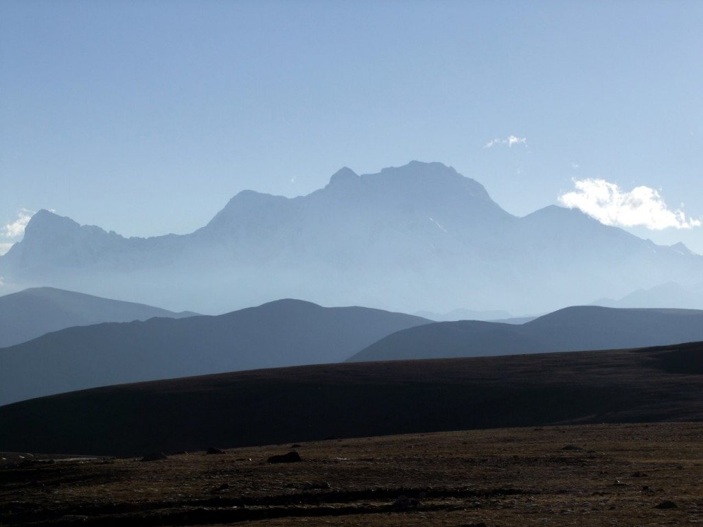 Shishapangma in Tibet, where Ueli Steck made a remarkable speed ascent in 2011