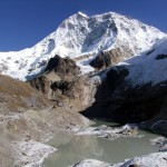 Makalu from Makalu Base Camp