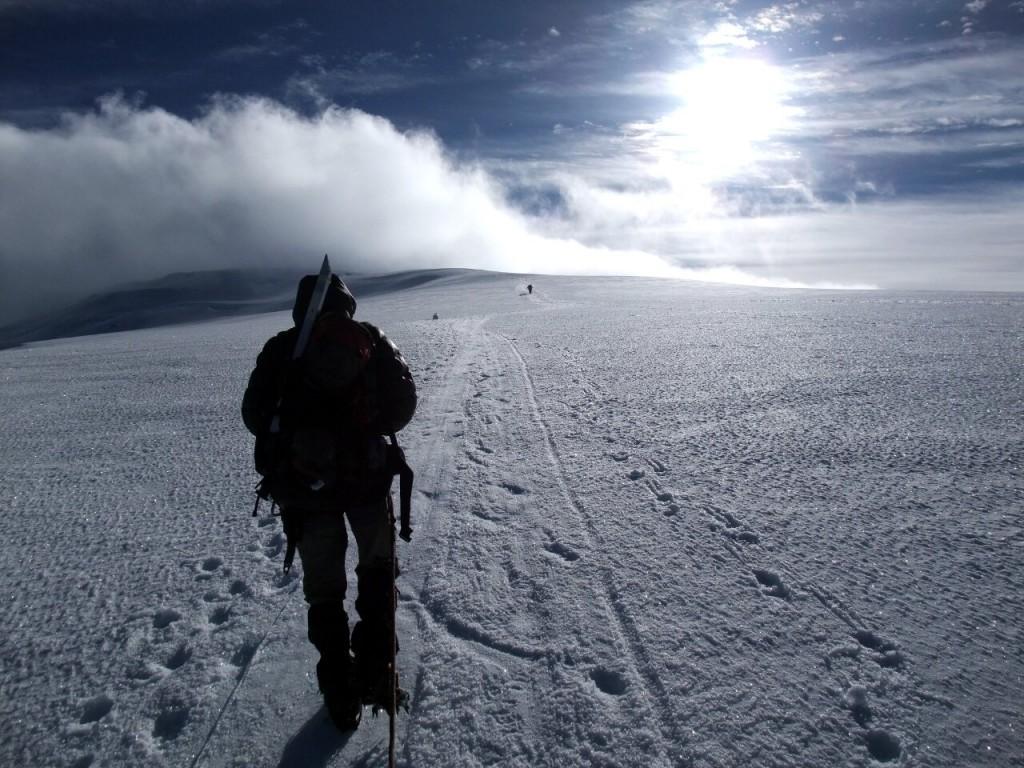 Ritacuba Blanco is still a true glacier climb, but for how much longer?