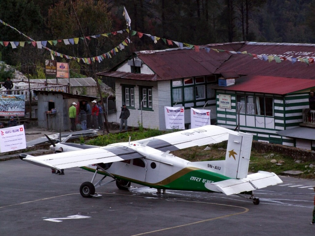 Logistics to and from the mountain will include Twin Otter flights to Lukla for climbers attempting Everest from the south side