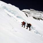 They may only be carrying loads, but Everest requires a degree of technical skill which an inexperienced Sherpa may not have