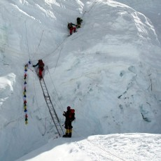 The North Col and the Ladder of Death