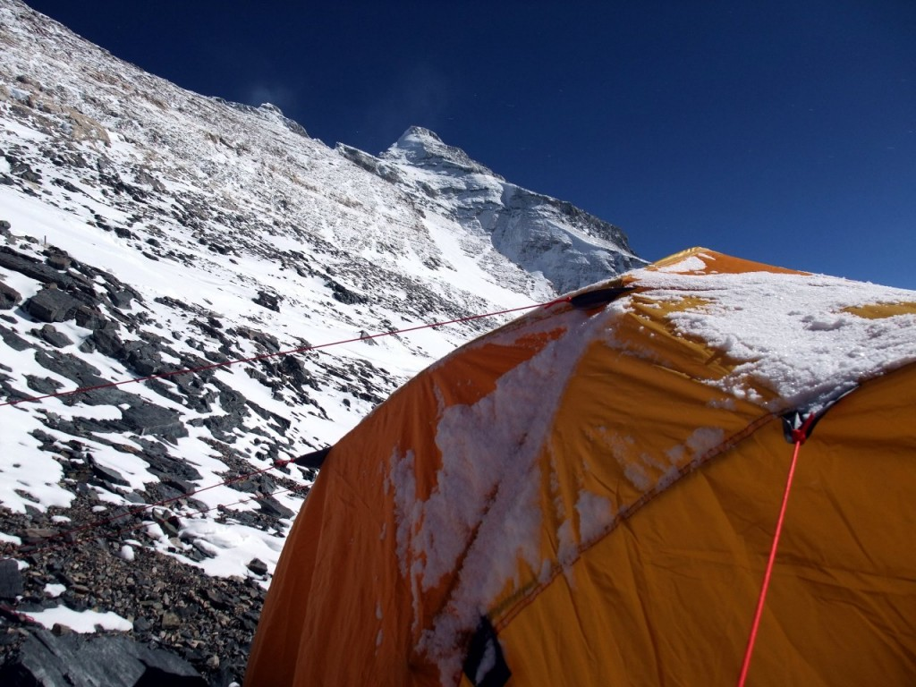 "Even I spent two nights in this tent deep in the ""death zone"" at 8200m and was able to recover a little, so it can't be that bad up there"