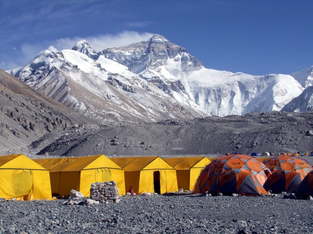 This is actually Everest Base Camp on the north side, but who cares (Picture Credit: ARSE)
