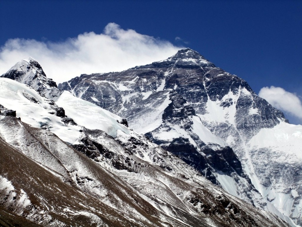 Everest from the north. A beautiful mountain that provokes a lot of ugly hate.
