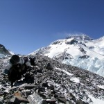 Yaks on the Magic Highway with Everest up ahead