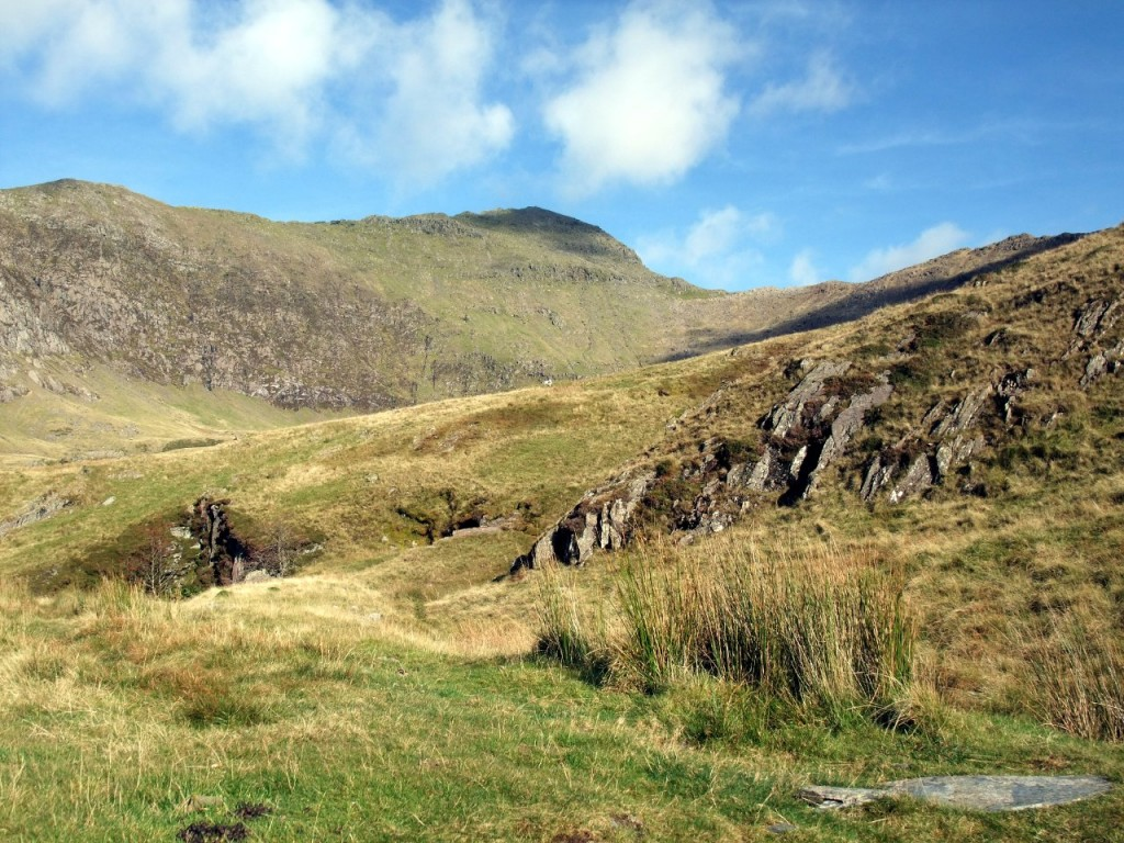 The Watkin Path on Snowdon's southern side is a place to get away from the crowds on a busy mountain
