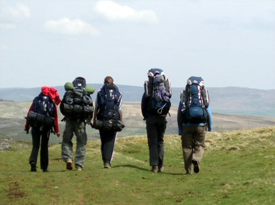 A typical DofE expedition (without the damp mist). This may bring back memories for some of you (Photo: Leedsdoggod / Wikimedia Commons)