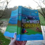 This is my proof copy of Feet and Wheels to Chimborazo. Your copy won't have that grey band around the cover (or any typos).