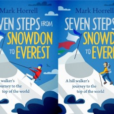 Seven Steps from Snowdon to Everest: a writer's journey to a perfect book cover