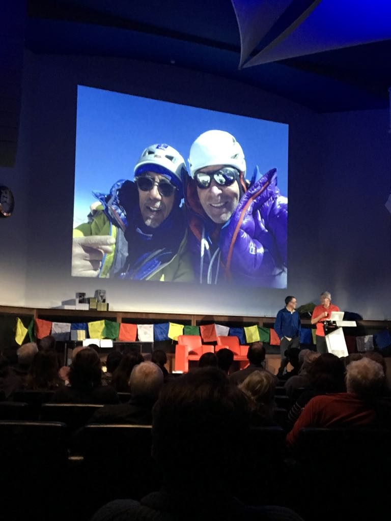 Vic and Mick with their Sersank summit photo