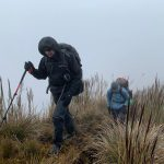 High-altitude struggling in the Llanganates Mountains (Photo: Edita Horrell)