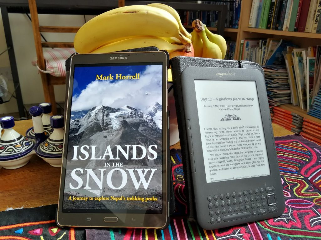 A revised digital edition of Islands in the Snow is available to download now