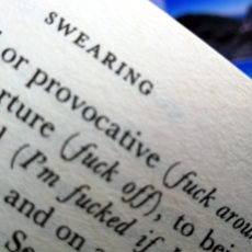 Swearing in travel writing: when is it acceptable?