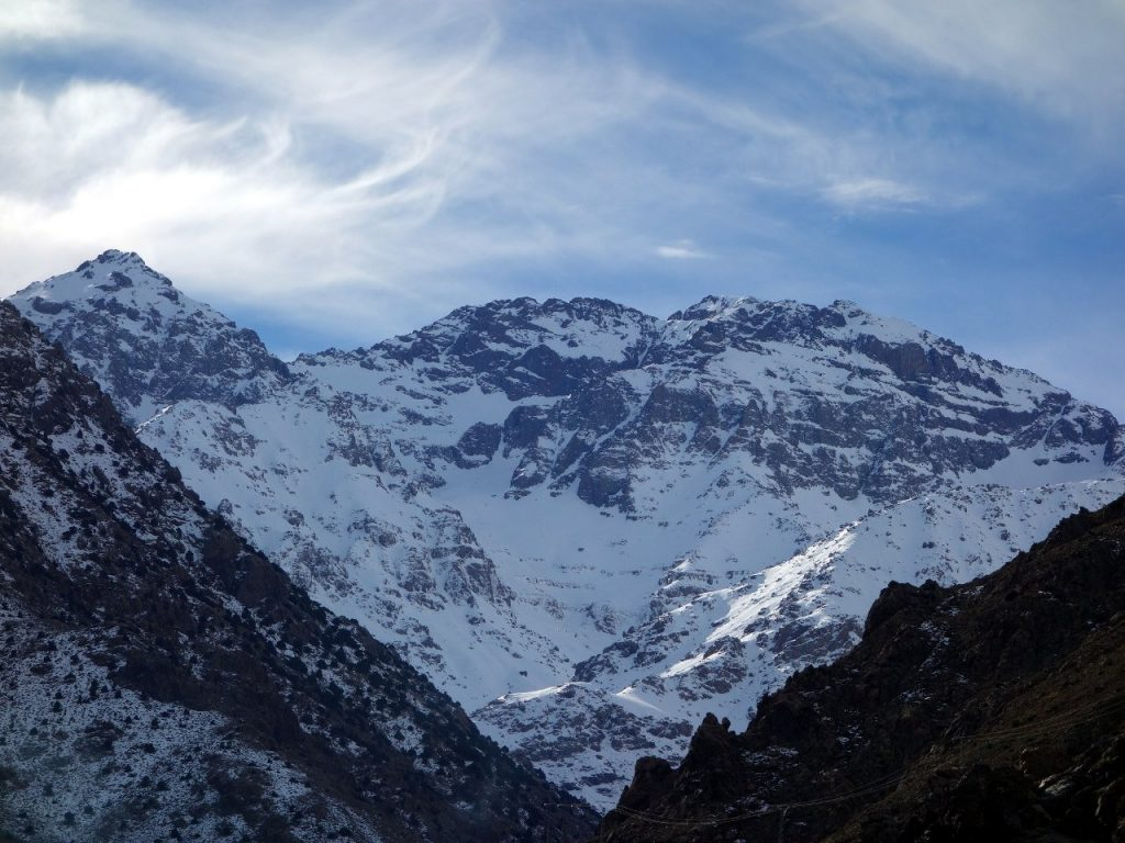 Jebel Toubkal: a good opportunity for a hill walker to get used to high altitude, without having to learn any of the technical skills you would need to reach a similar altitude in the Alps