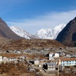 The peaceful setting of Langtang village in 2014, before the earthquake (Photo: Andrew Smith)