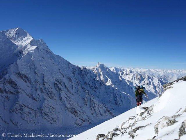 Tomek Mackiewicz high on Nanga Parbat (Photo: Tomek Mackiewicz)
