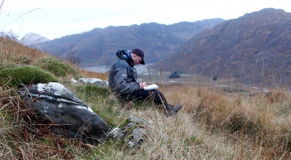 Mark at Barrisdale, Knoydart Peninsula
