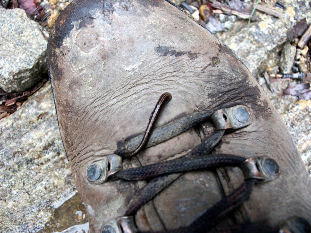 A good sturdy boot can protect you against leeches. Different footwear manufacturers tend to cater for different foot shapes. I nearly always buy Meindl boots these days, as I find they're a good fit for my shape of feet.