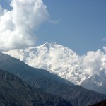Nanga Parbat in Pakistan, scene of an interesting story involving Andrew Lock and Alan Hinkes