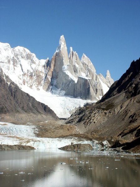 Cerro Torre and the Torre Glacier behind Lago Torre