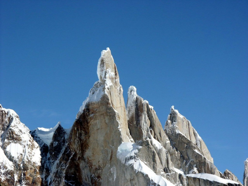 Cerro Torre in Patagonia, arguably the world's most controversial mountain
