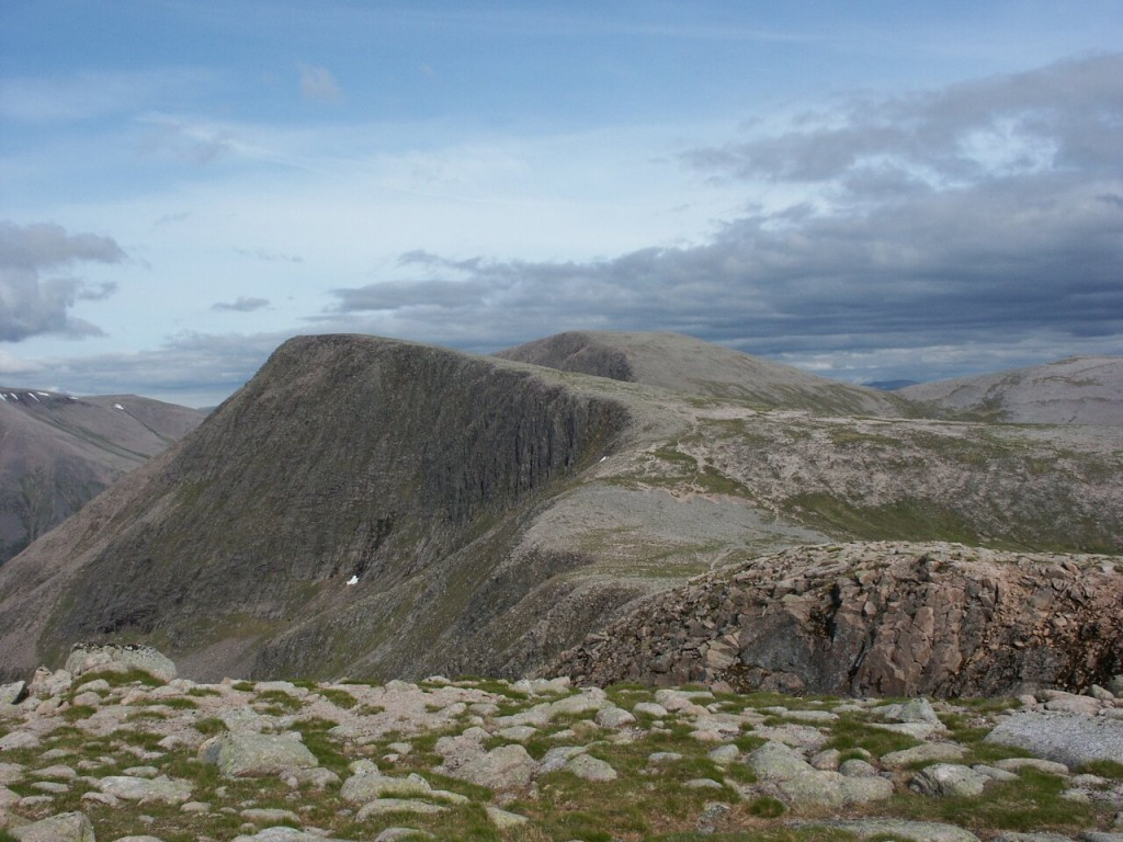 Angel's Peak in the Cairngorms, Scotland. I don't know if this is a Munro or not. It was when I climbed it in 2006, but it never used to be.