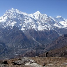 Is this the finest view in the Himalayas?