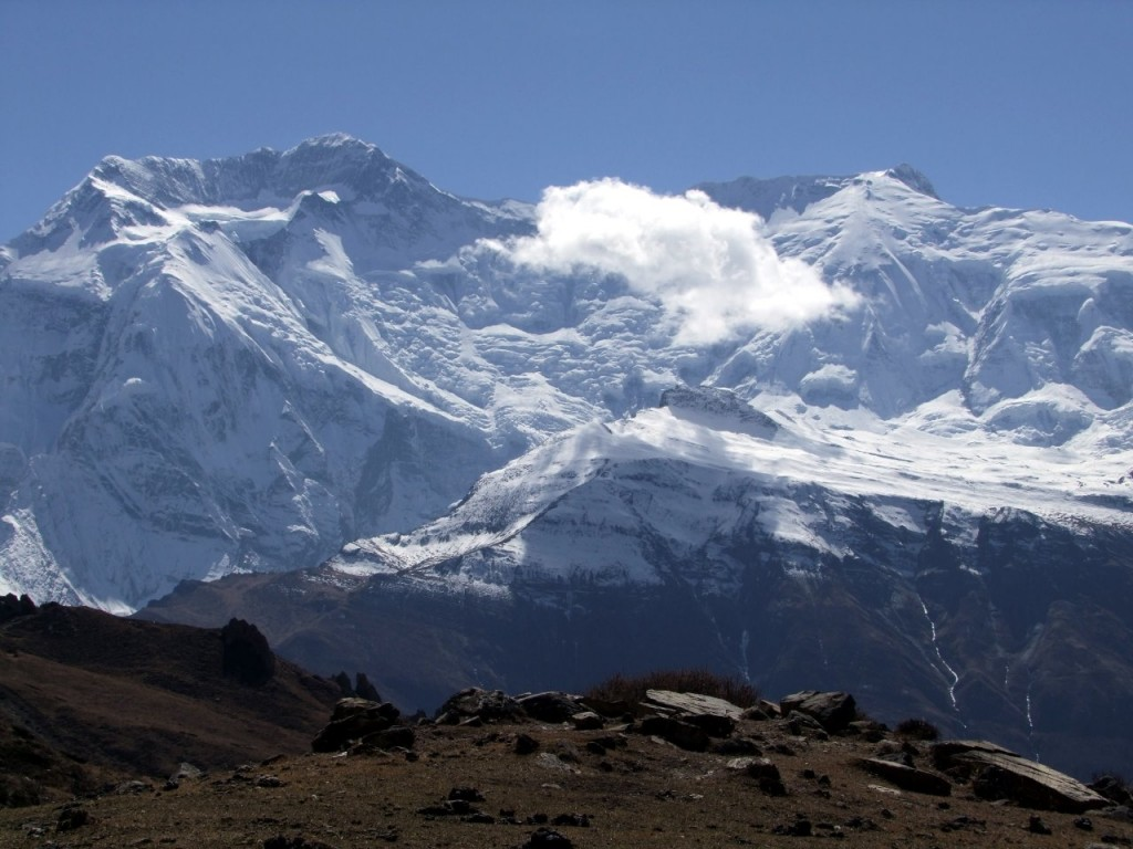 Annapurna II (7939m), first climbed by Sir Chris Bonington in 1960