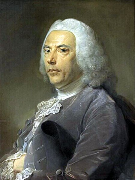 Pierre Bouguer was the driving force behind the French Geodesic Mission, and I want one of those wigs (Photo: Jean-Baptiste Perronneau / Wikimedia Commons)
