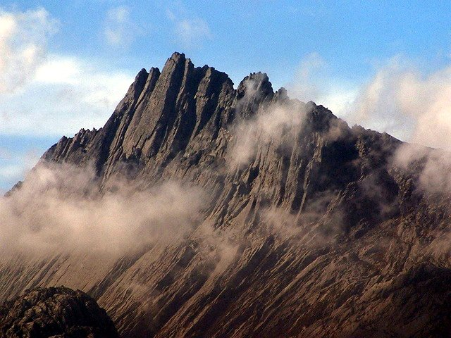 Carstensz Pyramid, or Puncak Jaya, which Pete Boardman climbed with his wife Hilary (Photo: Alfindra Primaldhi)