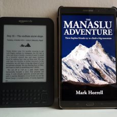 Revised edition of The Manaslu Adventure available from all good e-bookstores