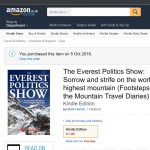 The Everest Politics Show: available for pre-order now