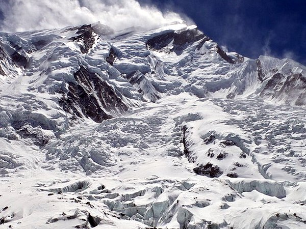 The desperate North Face of Annapurna from Camp 1 (Photo: Samuli Mansikka)