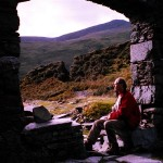 My father Ian glimpses that untravelled world, a moment captured on camera by my late mother Elisabeth in 1997