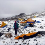 Everest Base Camp after the 2015 earthquake (Photo: Edita Nichols)