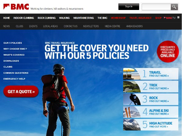 BMC Insurance: great in theory, not so good in practice