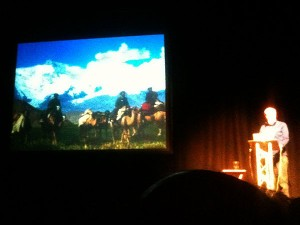 Sir Chris Bonington talks about his ascent of Kongur in the Chinese Pamirs, involving a ride in on camels