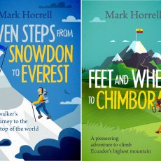 Feet and Wheels to Chimborazo: please give your feedback on my book cover