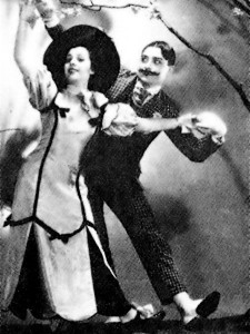 Boris and his dance partner Kira performing The Gay 1900s (yes, really) in Shanghai
